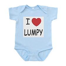 I heart lumpy Infant Bodysuit
