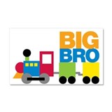 Train Big Brother Car Magnet 20 x 12