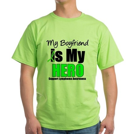 Lymphoma Hero Green T-Shirt