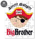 Brown Hair Pirate Big Brother Puzzle