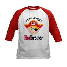 Blonde Hair Pirate Big Brother Tee