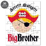 Blonde Hair Pirate Big Brother Puzzle