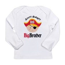 Blonde Hair Pirate Big Brother Long Sleeve Infant