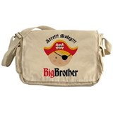 Blonde Hair Pirate Big Brother Messenger Bag