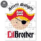 Blonde Hair Pirate Little Brother Puzzle