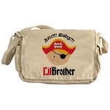 Blonde Hair Pirate Little Brother Messenger Bag