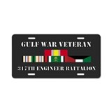 317th Engineer Battalion Gulf War Veteran Aluminum