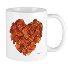 Bacon Heart - Coffee Mug