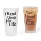 Oboe Band Geek Drinking Glass