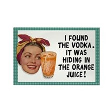 Vodka Fridge Magnet