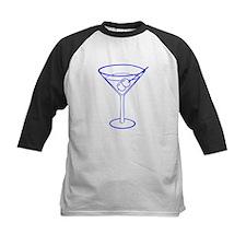 Blue Martini Glass Tee