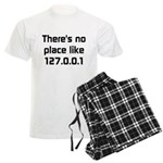 No Place Like 127.0.0.1 Men's Light Pajamas