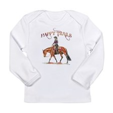 Happy Trails Long Sleeve Infant T-Shirt