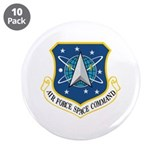 "Air Force Space Command 3.5"" Button (10 pack)"