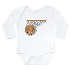 Basketball117 Long Sleeve Infant Bodysuit