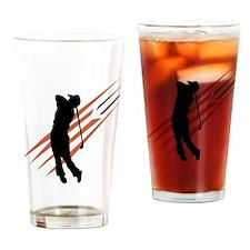 Golf13 Drinking Glass