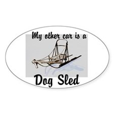Funny Sled dogs Decal