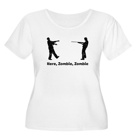 Here, Zombie Women's Plus Size Scoop Neck T-Shirt