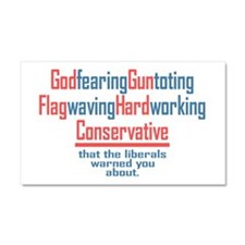 Conservative Car Magnet 20 x 12