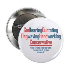 "Conservative 2.25"" Button (10 pack)"