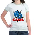 Hockey Girl Jr. Ringer T-Shirt