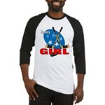 Hockey Girl Baseball Jersey