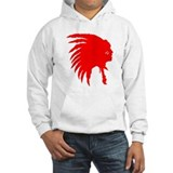 Native American War Chief Hoodie