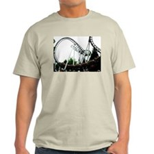 Rollercoasters Ash Grey T-Shirt
