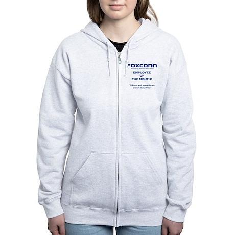 Foxconn Employee of the Month Women's Zip Hoodie