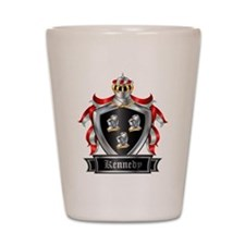KENNEDY COAT OF ARMS Shot Glass