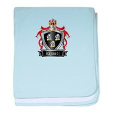 KENNEDY COAT OF ARMS baby blanket