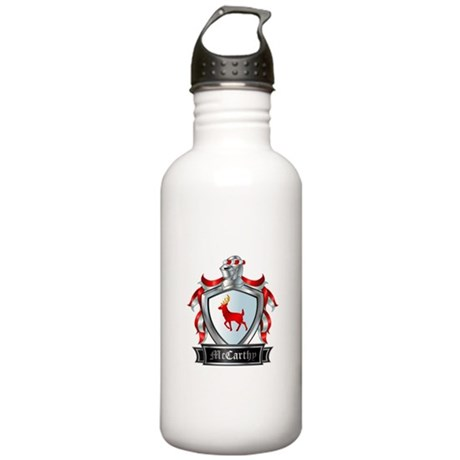 MCCARTHY COAT OF ARMS Stainless Water Bottle 1.0L