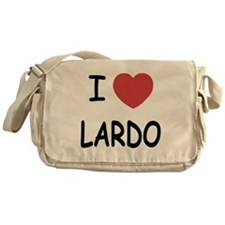 I heart lardo Messenger Bag
