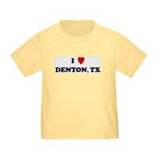 I Love Denton T