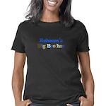 RAINBOW SEAHORSE Organic Women's T-Shirt (dark)