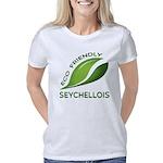 RAINBOW SEAHORSE Women's V-Neck T-Shirt
