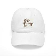 AmStaff pup & child Baseball Cap