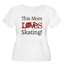 Mom Loves Skating T-Shirt