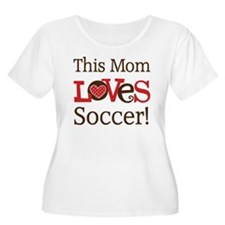 Mom Loves Soccer T-Shirt
