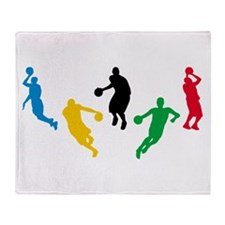 Basketball Players Throw Blanket