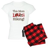 Mom Loves Hiking pajamas