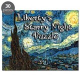 Liberty's Starry Night Puzzle