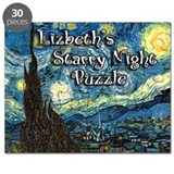 Lizbeth's Starry Night Puzzle
