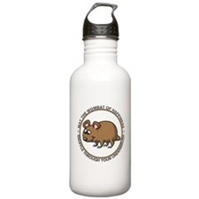Wombat Of Happiness Sports Water Bottle