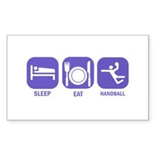 Sleep Eat Handball Decal