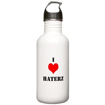 I LUV HATERZ GEAR Stainless Water Bottle 1.0L