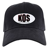 KOS Simple Black Baseball Hat