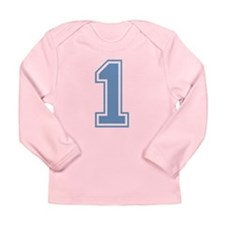 Cute Happy first birthday Long Sleeve Infant T-Shirt