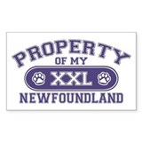 Newfoundland PROPERTY Decal