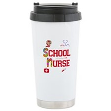 School Nurse Ceramic Travel Mug